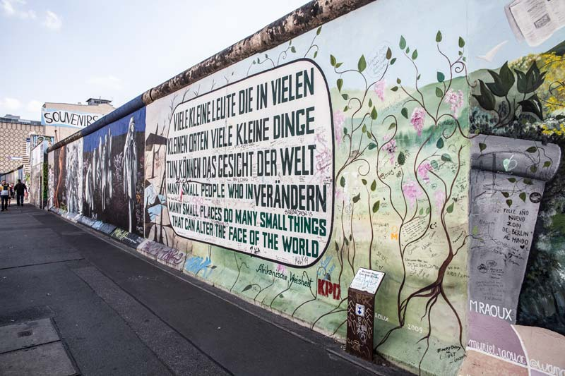 East Side Gallery / Mercedes-Benz Arena